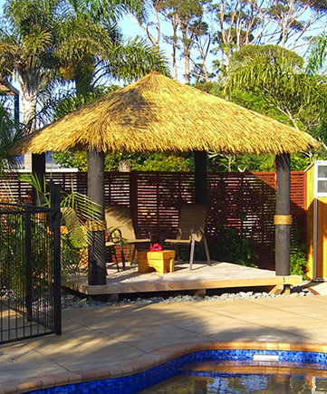Brustics New Zealand Thatch Shade Solutions Auckland