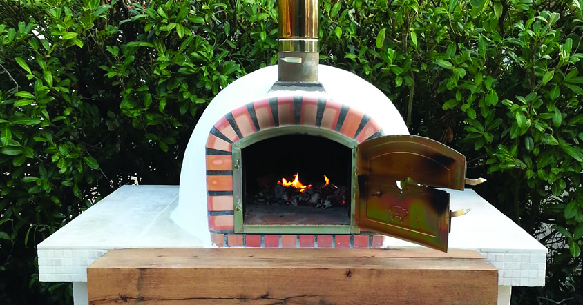The Forno Braga wood fired pizza ovens are real authentic brick ovens made in Portugal from Brustics NZ
