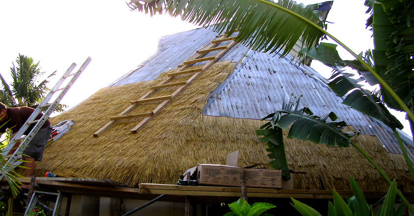 Brustics New Zealand Synthetic Thatch Shelters Auckland