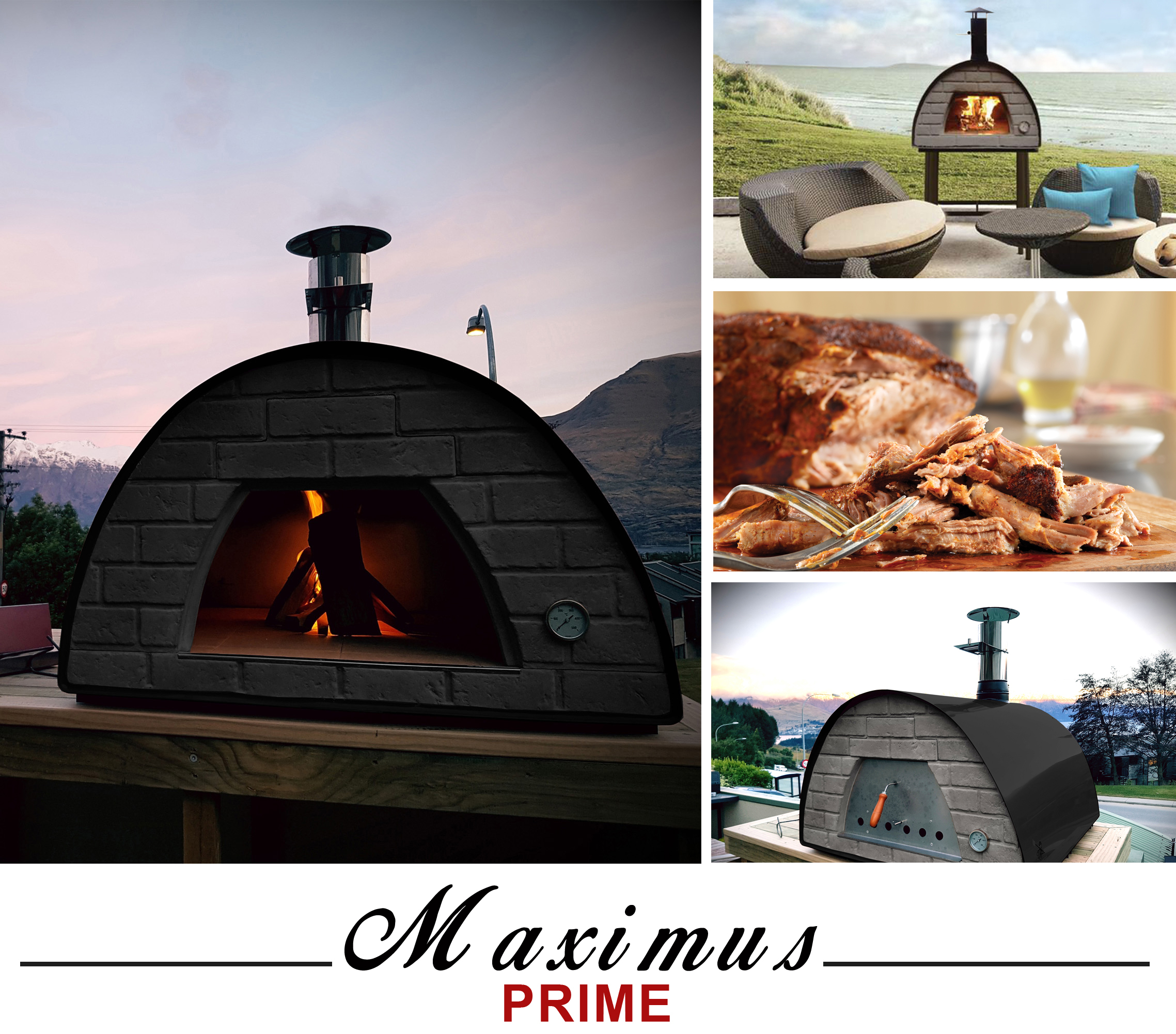 Brustics New Zealand Quality Woodfired Pizza Ovens